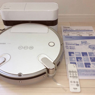 掃除ロボット TOSHIBA VC-RVD1