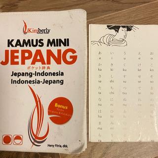 Kamus mini Jepang 日インドネシア語辞書