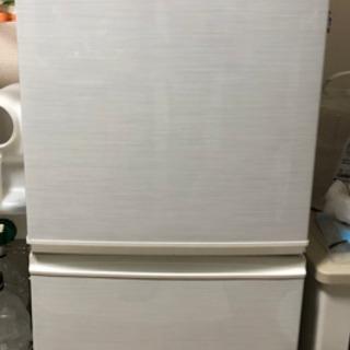 SHARP シャープ SJ-14W 冷蔵庫 2ドア 137L