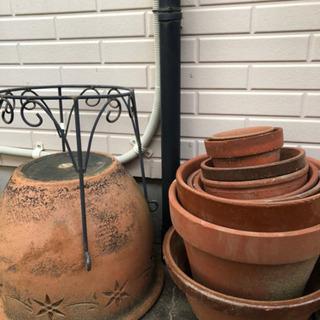 植木鉢(使用感あり) - 鹿嶋市