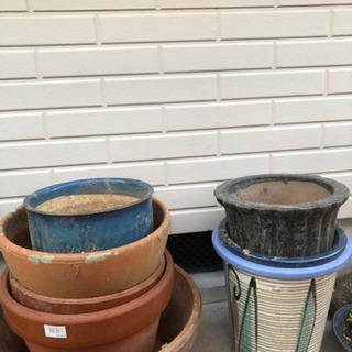 植木鉢(使用感あり)の画像