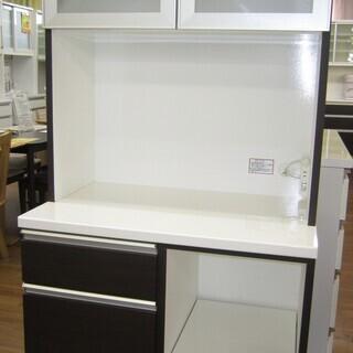 R213 食器棚・レンジボード 幅80cm 高さ180cm 良品