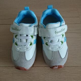 【familiar】スニーカー ・靴下の2点セット 15㌢