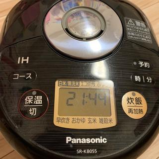 Panasonic 炊飯器 三合炊き 中古 送料のみ負担下さい。