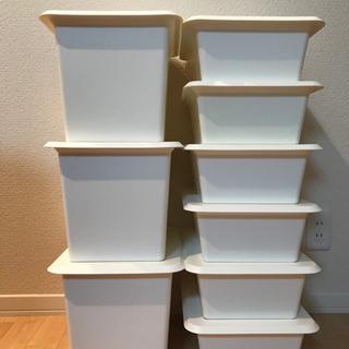 【受渡者様決まりました】IKEA 収納ボックス
