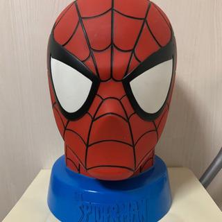 スパイダーマン 等身大 マスク貯金箱 マーベル