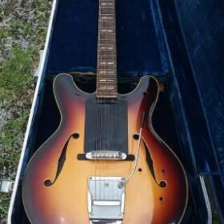 YAMAHAジャパンビンテージセミアコギター