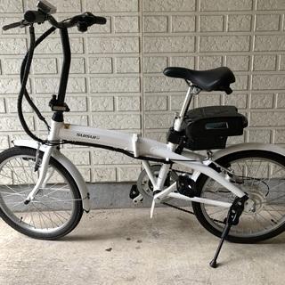 折りたたみ式電動アシスト自転車20インチ
