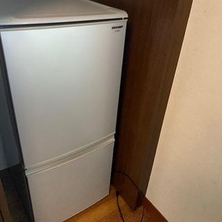 冷蔵庫 シャープ SJ-14S-S 2010年製 シルバー