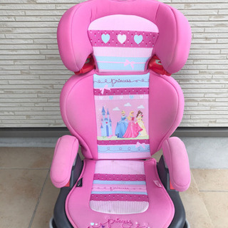 【ディズニー】チャイルドシート プリンセス(ピンク)