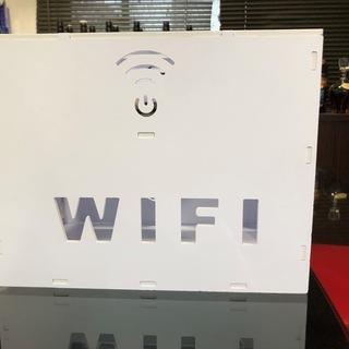 Wi-Fiルーター電源ケーブル収納ボックス