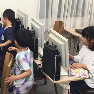 子供向けプログラミング教室講師