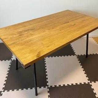ダイニングテーブル 135cm×77cm 高さ70cm〜72cm