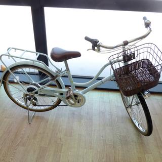 難アリ 子ども用自転車 22インチ イオンバイク 6段変速 パス...