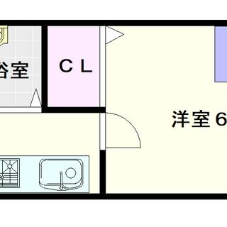 【シティライフエステート難波南】6号タイプ!1Kタイプ!最安値ク...