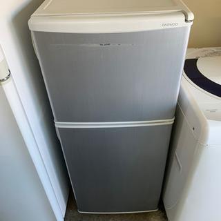 2ドア冷蔵庫 DAEWOO  DRF-120NS 2012年製