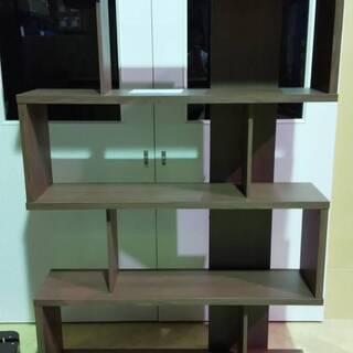 木製オープンラック 本棚 書棚