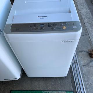 【美品】洗濯機 6kg パナソニック NA-F60B10 201...