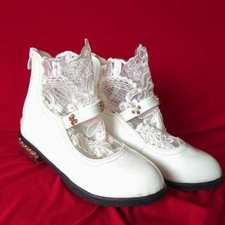 21cmエナメル靴子供