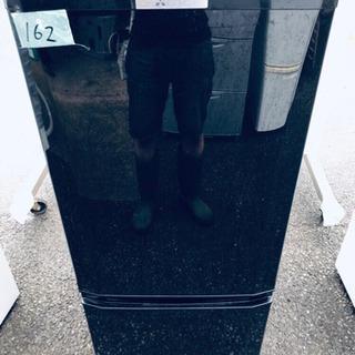 162番 三菱✨ノンフロン冷凍冷蔵庫✨MR-P15A-B‼️