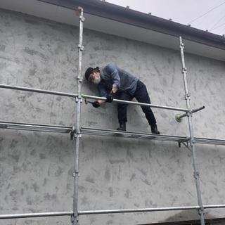 ⭕️「足場専門店」です‼️塗装•屋根•窓など多数お請けしてます★彡