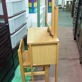 ジモティー見た!で表示価格から30%OFF! アケボノ 家具 天然木 コンパクト ドレッサー 椅子付き 鏡台 化粧台 - 札幌市