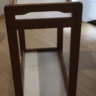 木製キャスター台(中古品)0円