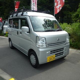 軽バン専門店在庫50台 日産 NV100クリッパー 車検付令和3...
