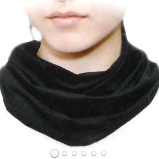 【新品】ひんやりネック しろくまのきもち ブラック フリーサイズ