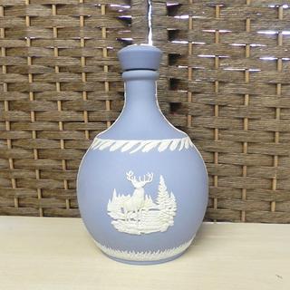 《空ボトル》ウェッジウッド ジャスパー 陶器ボトル トナカイ ...