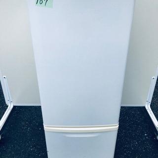 167番 Panasonic✨ノンフロン冷凍冷蔵庫✨NR-B17...
