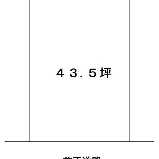 伊賀市川西・43,5坪・売土地・川西青葉台