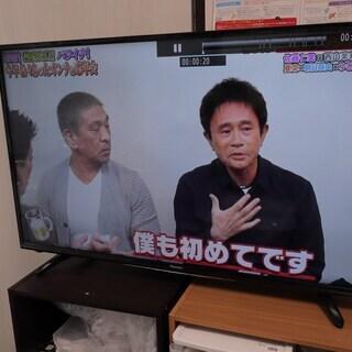 【保証あり】ハイセンス 43V型 液晶テレビ