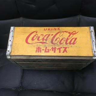 (商談中)コカコーラの古い木箱