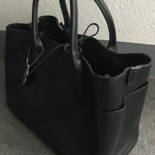 ★美品 ナチュラルビューティー トートバッグ 黒