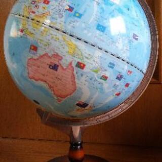 (取引中)地球儀