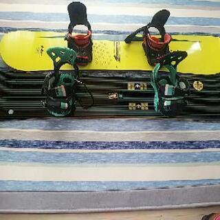 スノーボード2枚