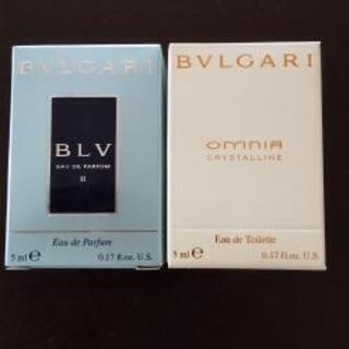 未開封 BVLGARI 香水5ml OMNIA&BLV