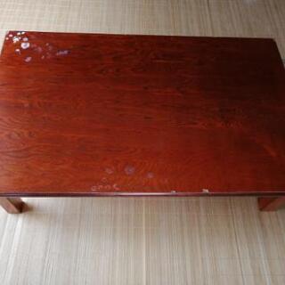 【8/7までのお取引】折りたたみ式テーブル 120cm×7…