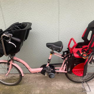 Panasonic 電動アシスト 子供乗せ自転車