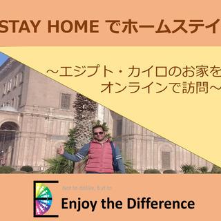 STAY HOMEでホームステイ(エジプト・カイロのお家をオンラ...