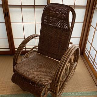 藤の椅子(大)