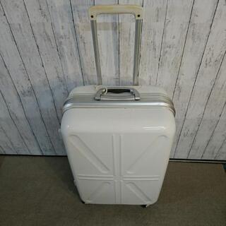 大きな白いスーツケース