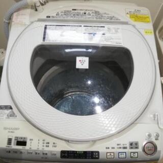 2014年シャープ洗濯乾燥機8Kg(乾燥4.5Kg)