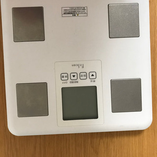 デジタル体重計の画像