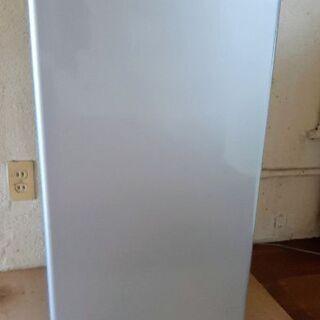 アクア 1ドア冷蔵庫 小さめ冷蔵庫 AQR-81C(S) 2015年製