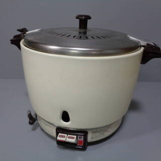 ☆★oh リンナイ ガス釜 ガス炊飯器 LPガス用 15号C