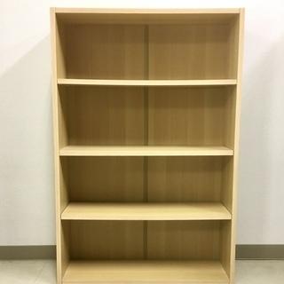 4段 カラーボックス 本棚 書棚  ラック収納 棚