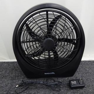 卓上 扇風機 DOCMFP1BK10 コンセントと乾電池利用可