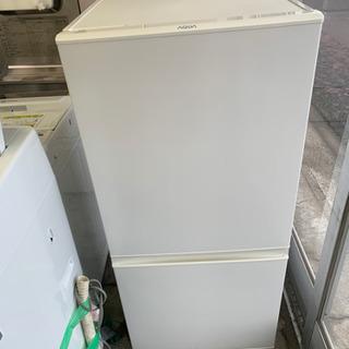 美品 2017年製 AQUA 157L 2ドア冷蔵庫 AQR-1...